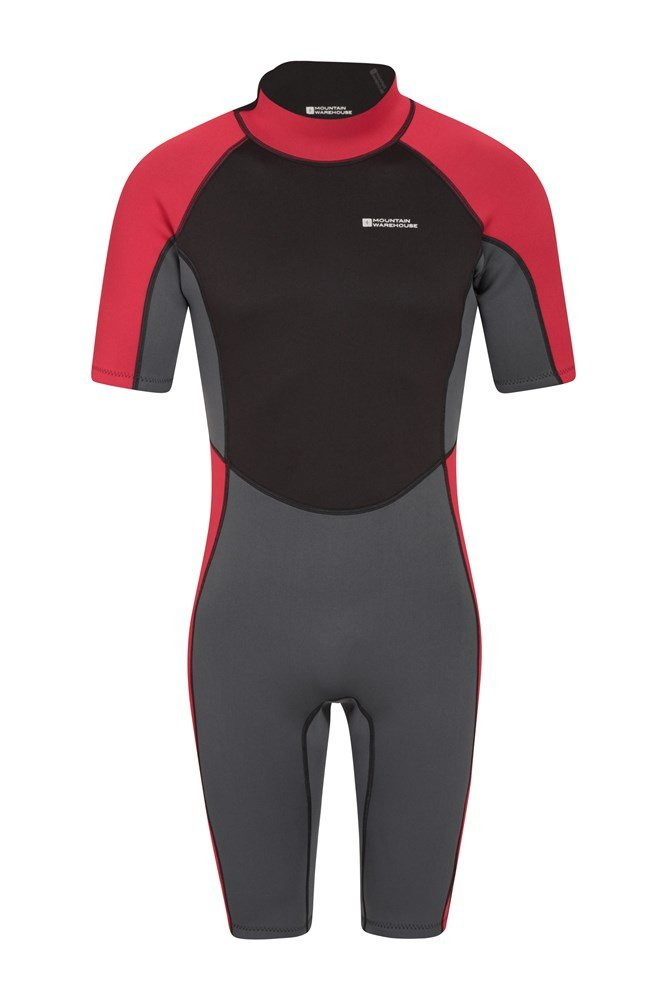 Shorty Mens Wetsuit - Grey