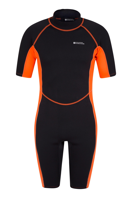 Shorty Mens Wetsuit - Orange