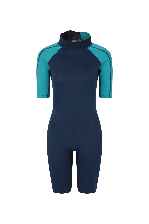 Combinaison de Plongée femmes Shorty - Bleu