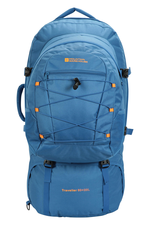 Traveller 60 + 20 Litre Backpack - Blue