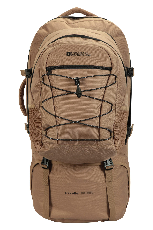 Traveller 60 + 20 Litre Backpack - Brown