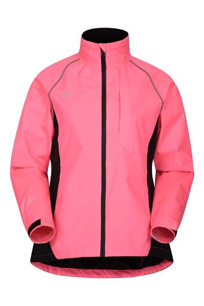 Adrenaline Womens Waterproof Iso-Viz Jacket - Pink