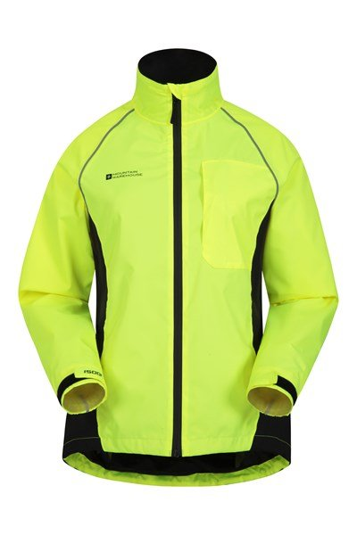 Adrenaline Womens Waterproof Iso-Viz Jacket - Yellow
