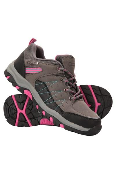Stampede Kids Waterproof Walking Shoes - Grey