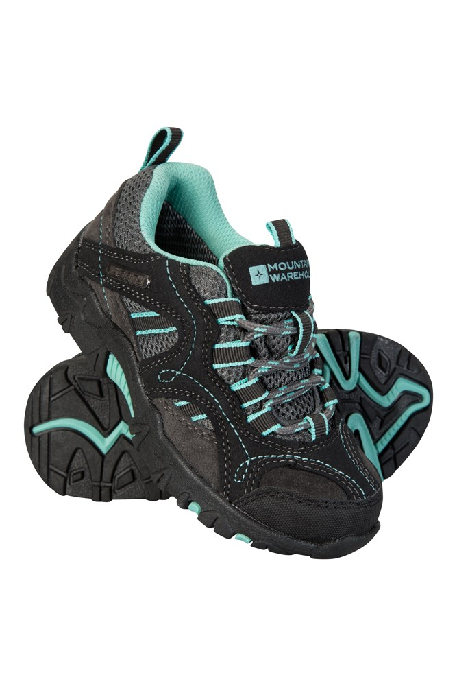 pretty nice f0e47 53788 Stampede Kids Waterproof Walking Shoes   Mountain Warehouse GB