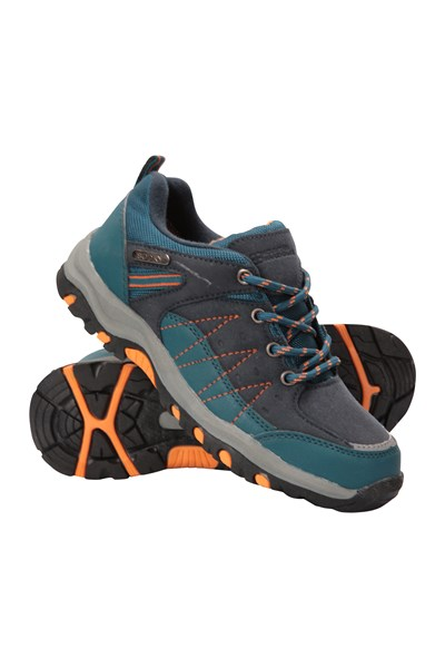 Stampede Kids Waterproof Walking Shoes - Dark Grey