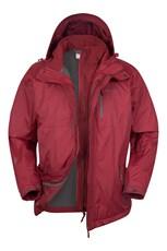 Bracken Extreme 3 in 1 Mens Waterproof Jacket