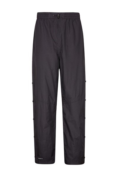 Downpour Mens Waterproof Trousers - Black
