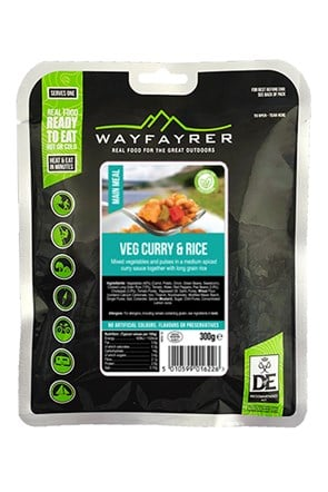Wayfayrer Vegetable Curry & Rice