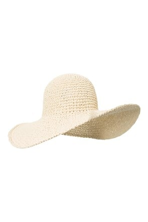 Packable Brimmed Straw Hat