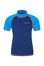 Short Sleeved Kids Rash Vest