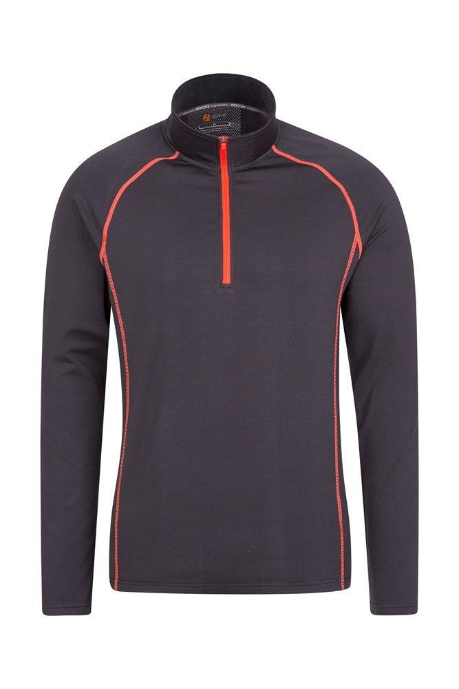 Breeze Mens Bike Top - Grey