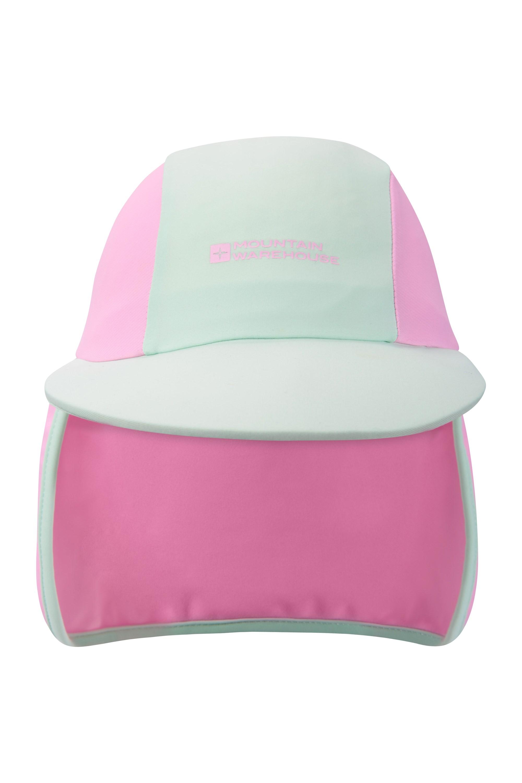 Legionnaire Kids Swim Hat - Light Pink