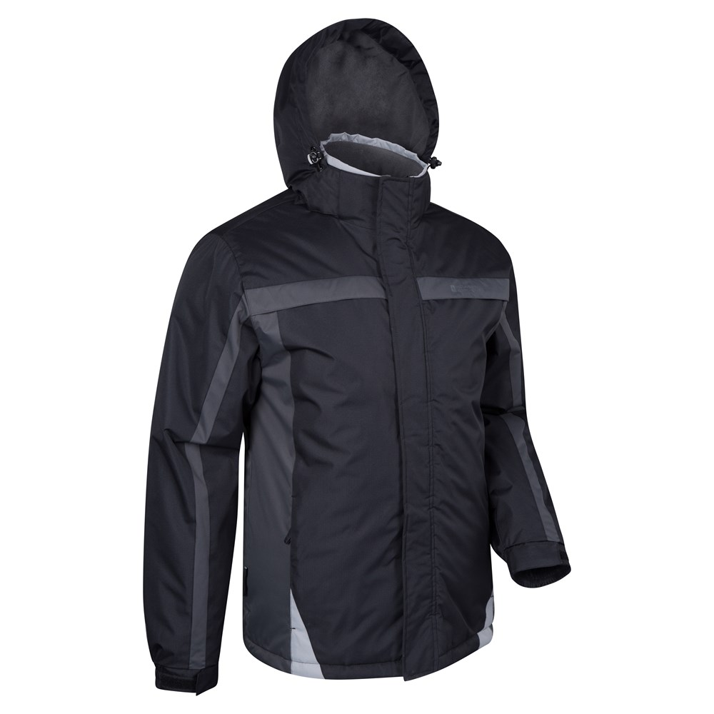 8ee8f01f5c Mountain Warehouse Mens Ski Jacket with Light Fleece Lining and ...