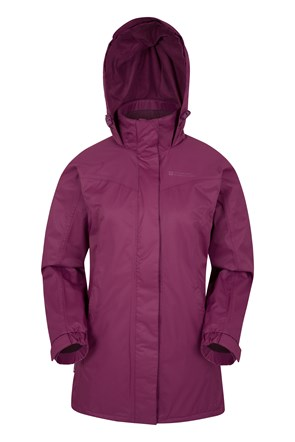 Guelder Womens Waterproof Long Jacket