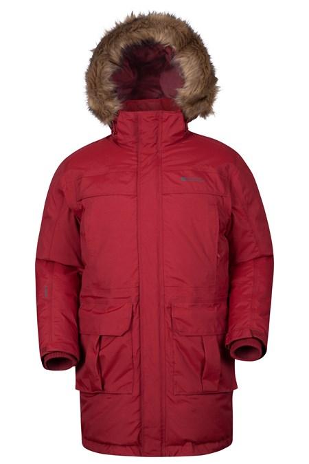 Antarctic Extreme Mens Down Jacket Mountain Warehouse Us