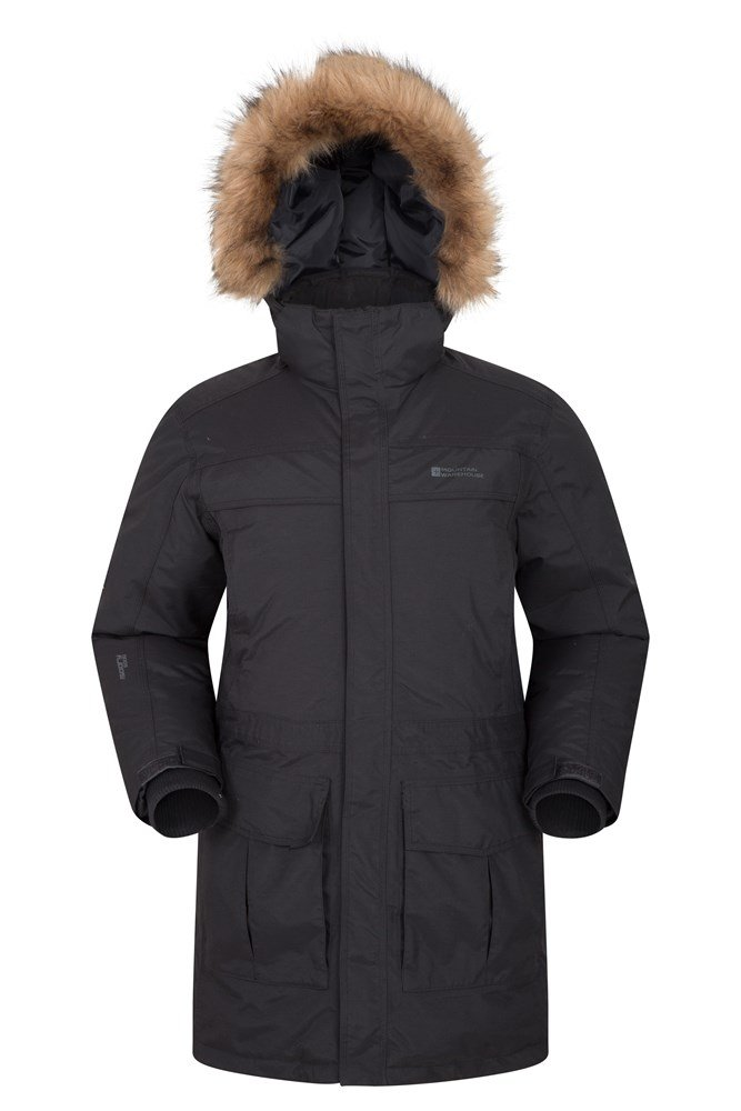 Antarctic Extreme Mens Down Jacket - Grey