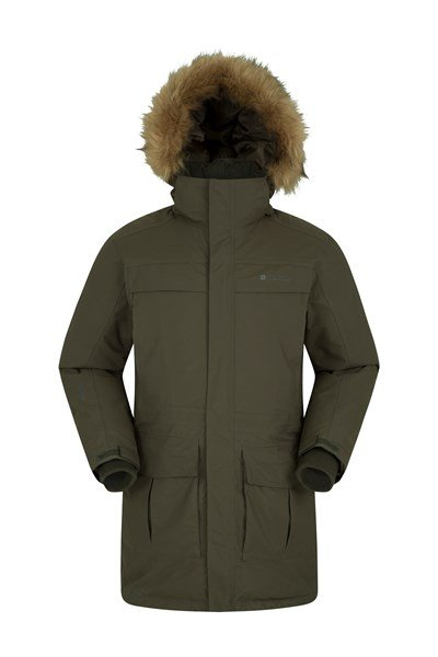 Antarctic Extreme Mens Down Jacket - Green