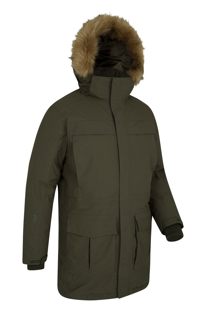 Antarctic Extreme Mens Down Jacket | Mountain Warehouse GB