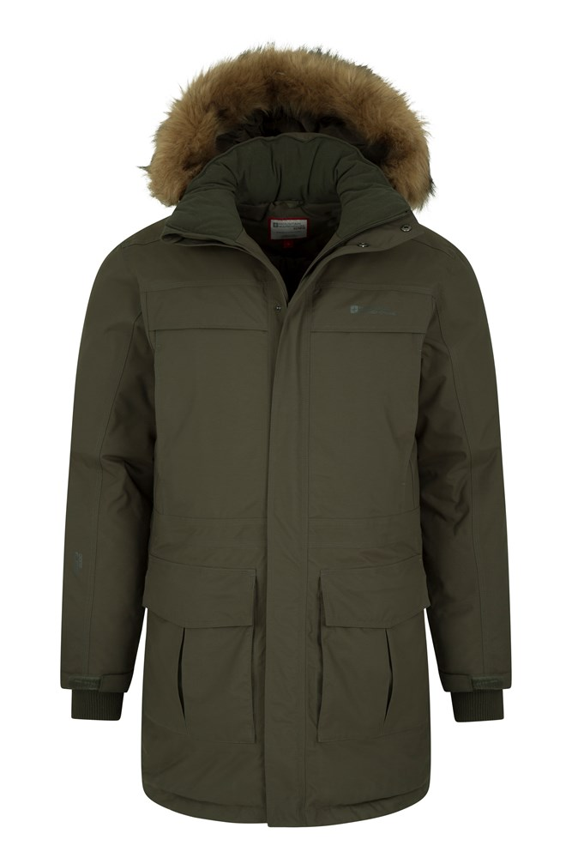 Antarctic Extreme Mens Down Jacket | Mountain Warehouse US