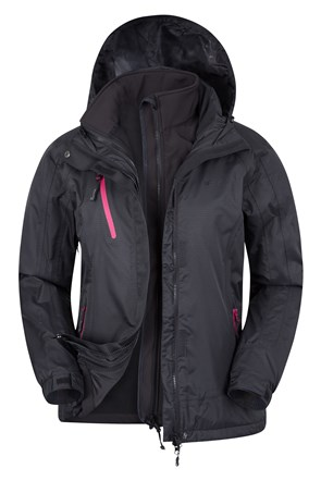 Bracken Extreme Womens 3 in 1 Waterproof Jacket 498e578b7c