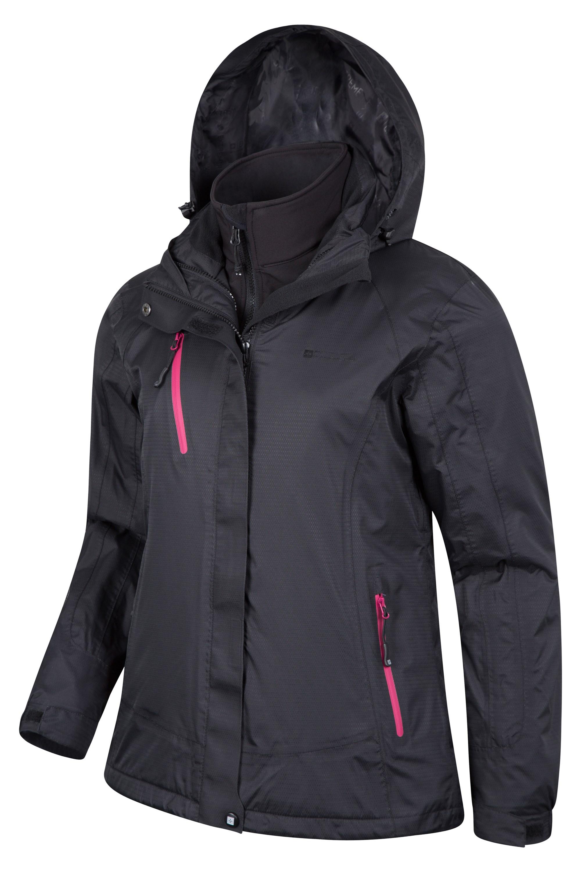 Bracken Extreme Womens 3 in 1 Waterproof Jacket | Mountain ...