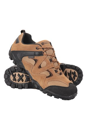 Curlews Mens Waterproof Walking Shoes