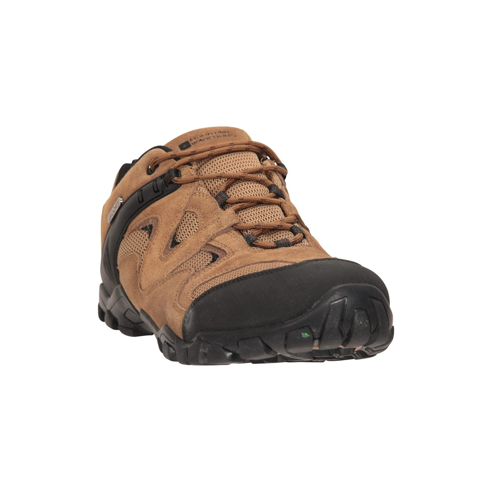 miniature 10 - Mountain Warehouse Mens Walking Shoes Waterproof Breathable 100% Rubber Boots