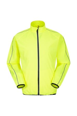 Force Mens Reflective Water-Resistant Running Jacket