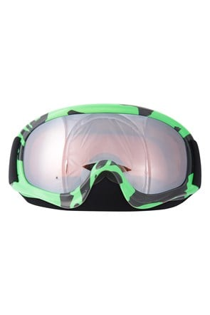Kids Patterned Ski Goggle