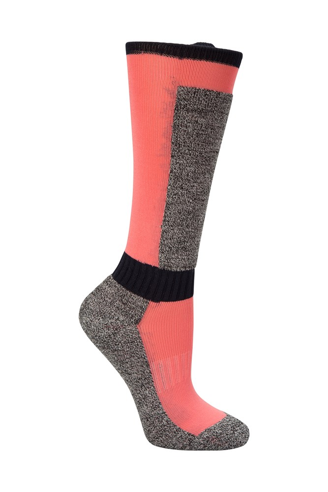 Mountain Warehouse Boys Ski Socks Durability and Comfort with a Wool Blend