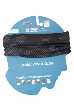 Patterned Mens Polar Fleece Headtube