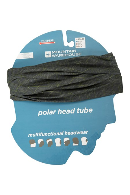 019013 PATTERNED POLAR FLEECE HEADTUBE