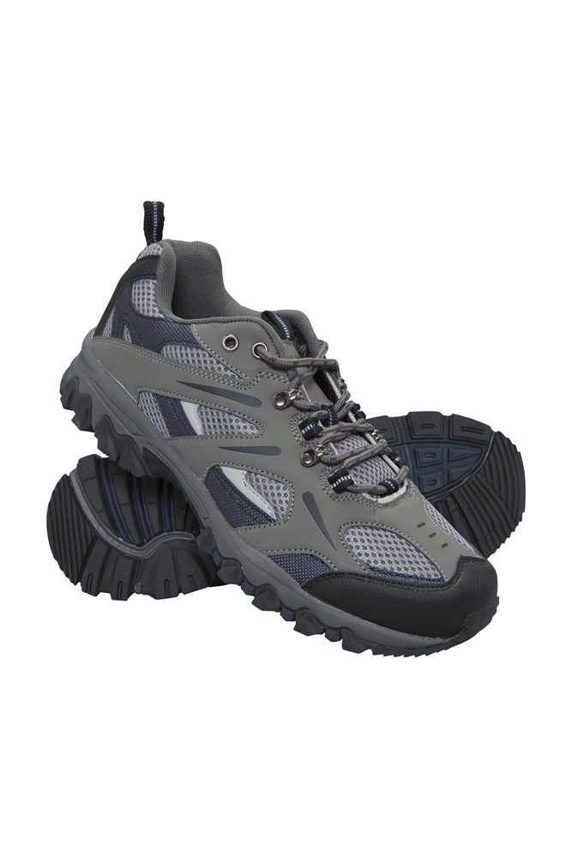 Jungle Mens Walking Shoes - Blue