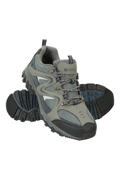 Jungle Mens Walking Shoes - Dark Blue