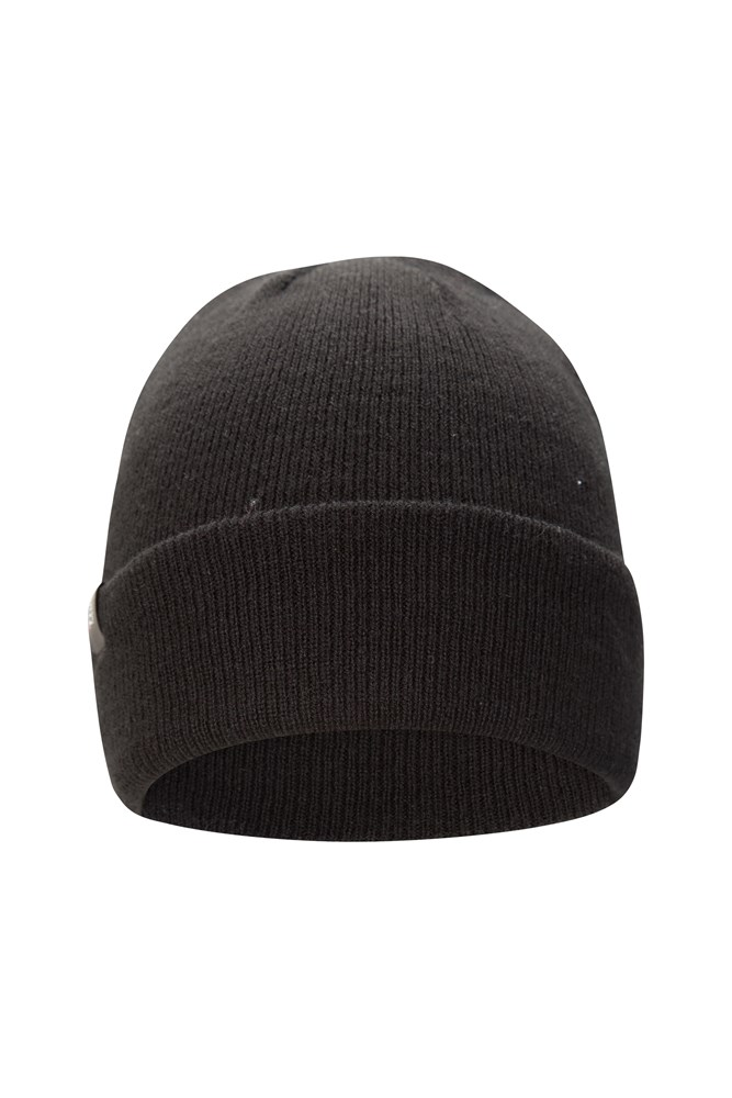Thinsulate Knitted Beanie - Black