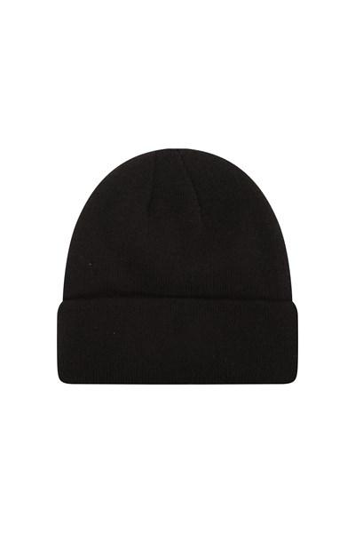 Thinsulate Knitted Beanie - Black