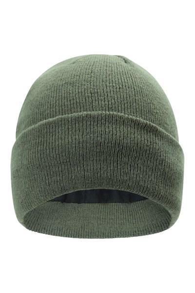 Thinsulate Knitted Beanie - Green