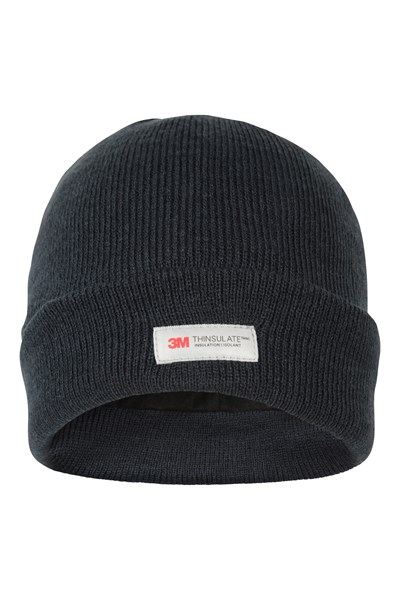 Thinsulate Knitted Beanie - Navy