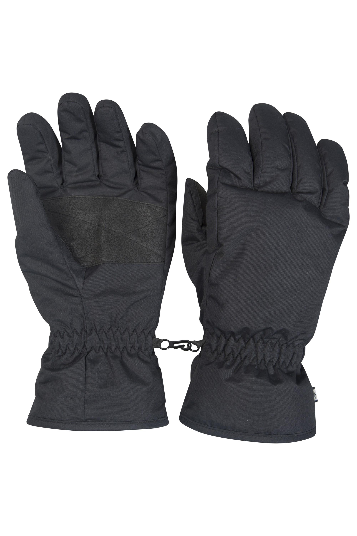 Mens Ski Gloves - Black