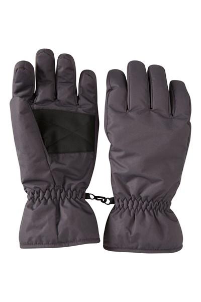 Mens Ski Gloves - Grey