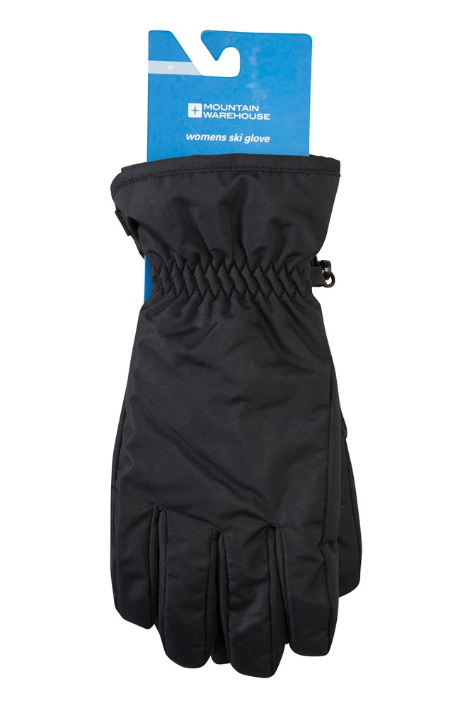 Womens Ski Gloves - Black