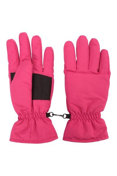 Womens Ski Gloves - Pink