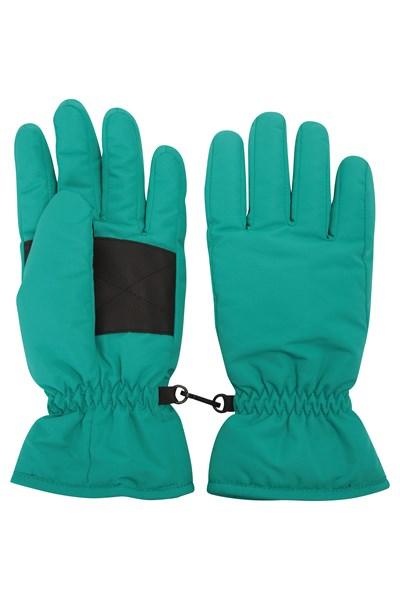 Womens Ski Gloves - Green