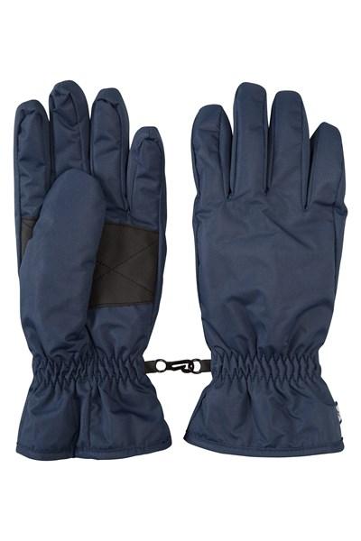 Womens Ski Gloves - Navy