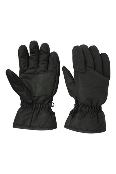 Kids Ski Gloves - Black