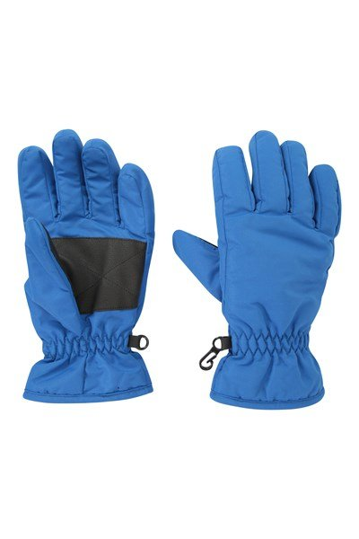 Kids Ski Gloves - Dark Blue