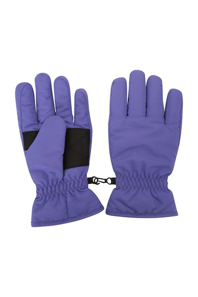 Kids Ski Gloves - Purple