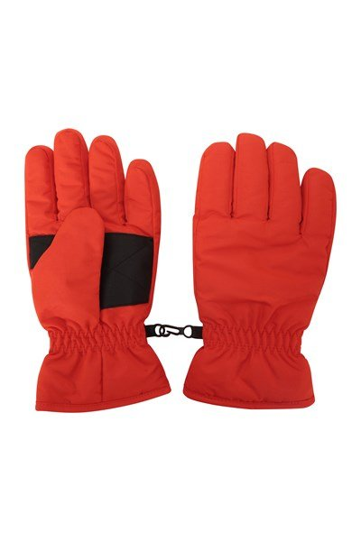 Kids Ski Gloves - Orange