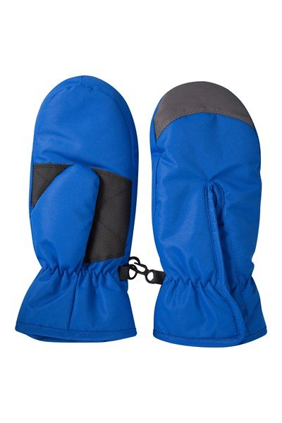 Kids Snow Mittens - Blue